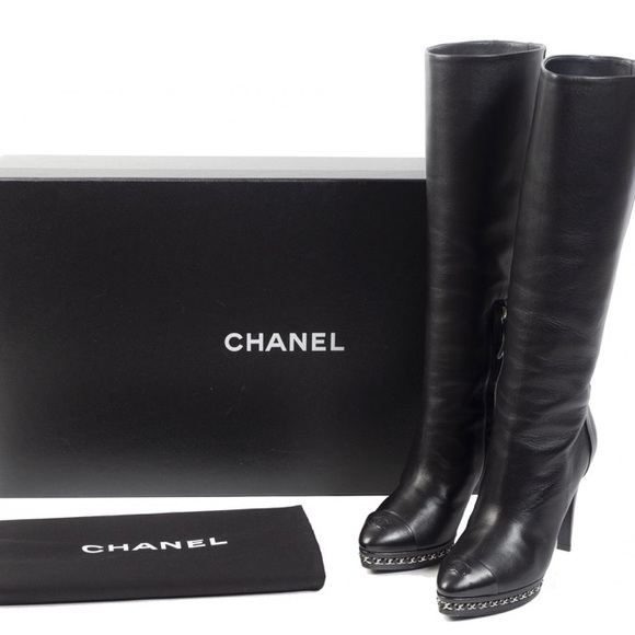 CHANEL Shoes - 🔥Authentic CHANEL high boots
